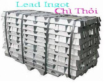 Chì Thỏi Lead  Ingot
